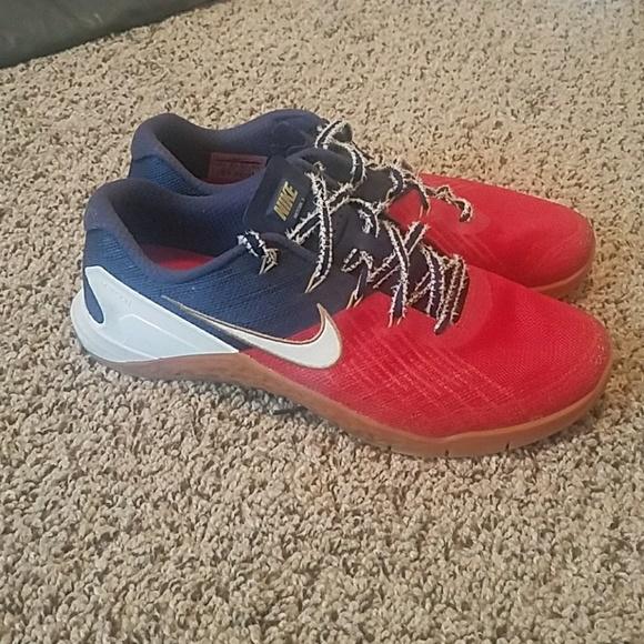 624aad5928d6 Nike Metcon 3 Freedom Red White   Blue. M 5b799f5fc89e1d986638f674